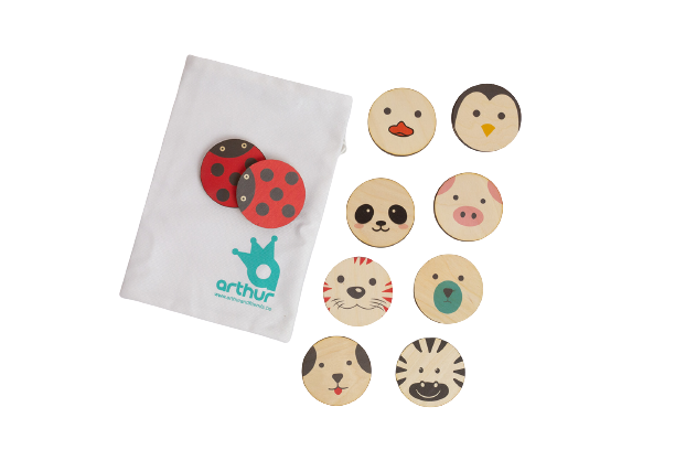Memo Memory Set CUTE 18 pcs